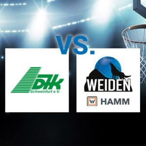 Saisonendspurt für HAMM Baskets – Basketballer gastieren in Schweinfurt