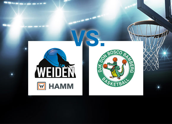 HAMM Baskets nur Aussenseiter – Basketballer empfangen Tabellenführer DJK Don Bosco Bamberg