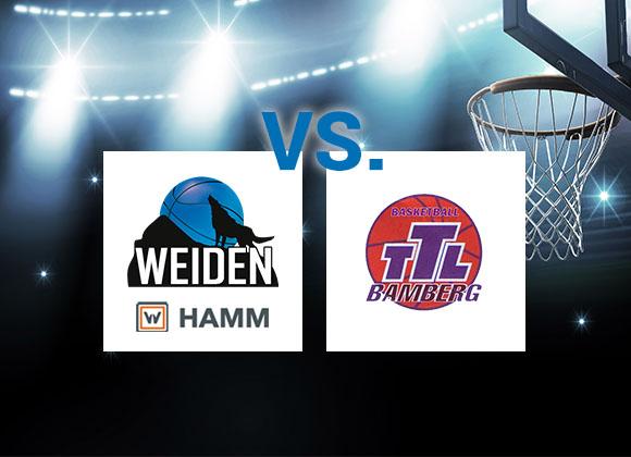 Mittelfeldduell für HAMM Baskets
