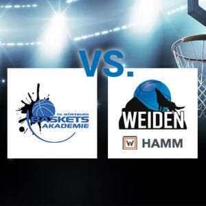 Wichtiges Auswärtsspiel für HAMM Baskets – Basketballer wollen in Würzburg Abstand zu den Abstiegsrängen wahren