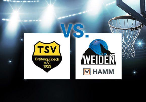 HAMM Baskets Favorit – Basketballer wollen in Breitengüßbach Sieg holen